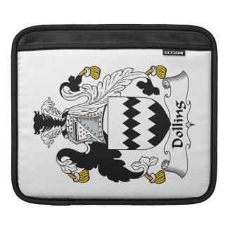 Escudo de la familia de Dolling Fundas Para iPads