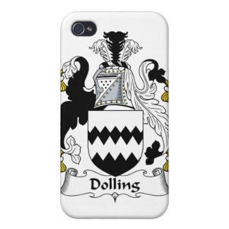 Escudo de la familia de Dolling iPhone 4 Carcasas