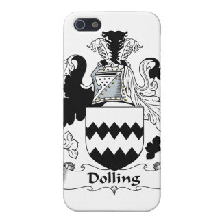 Escudo de la familia de Dolling iPhone 5 Fundas