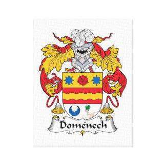 Escudo de la familia de Domenech Impresiones En Lona