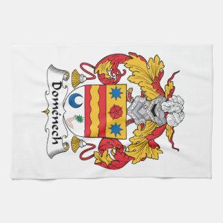 Escudo de la familia de Domenech Toalla De Mano