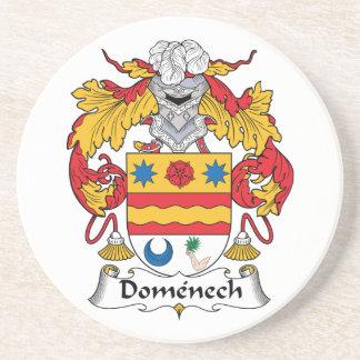 Escudo de la familia de Domenech Posavasos Diseño