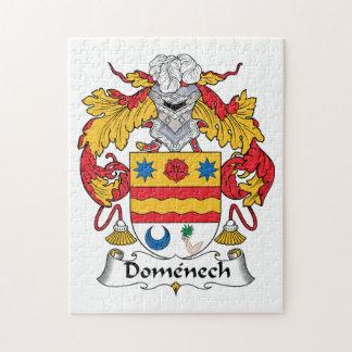 Escudo de la familia de Domenech Rompecabezas Con Fotos