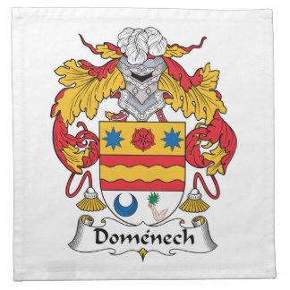 Escudo de la familia de Domenech Servilletas De Papel