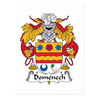 Escudo de la familia de Domenech Postal