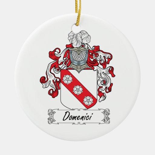 Escudo de la familia de Domenici Ornato