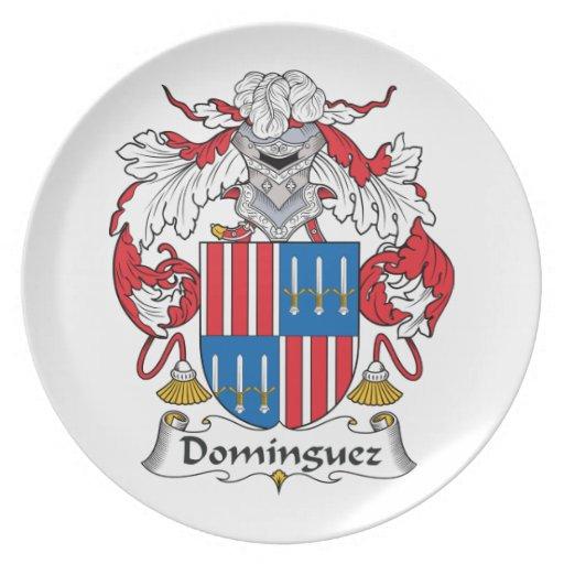 Escudo de la familia de Domínguez Plato