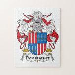 Escudo de la familia de Domínguez Rompecabeza Con Fotos