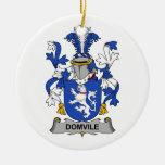 Escudo de la familia de Domvile Adorno Para Reyes