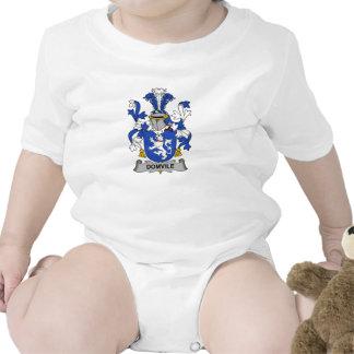 Escudo de la familia de Domvile Traje De Bebé
