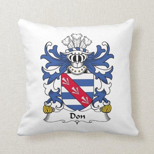Escudo de la familia de Don Cojines
