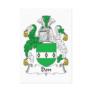 Escudo de la familia de Don Lona Envuelta Para Galerias