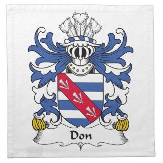 Escudo de la familia de Don Servilleta