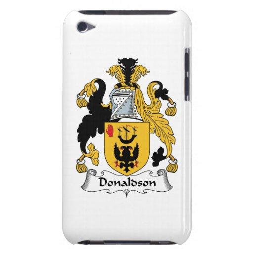 Escudo de la familia de Donaldson iPod Case-Mate Funda