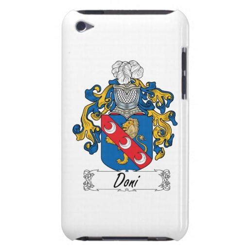 Escudo de la familia de Doni Barely There iPod Fundas