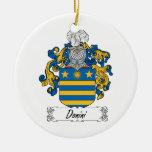 Escudo de la familia de Donini Ornatos