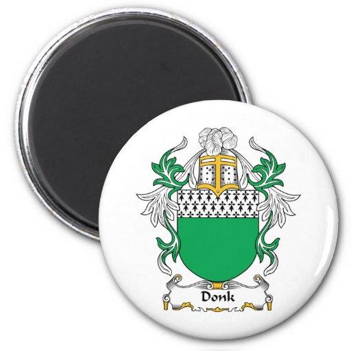 Escudo de la familia de Donk Imanes De Nevera