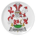 Escudo de la familia de Donlevy Plato