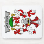 Escudo de la familia de Donlevy Tapetes De Ratones