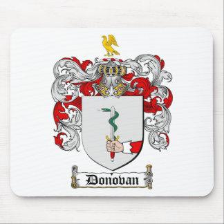 ESCUDO DE LA FAMILIA DE DONOVAN - ESCUDO DE ARMAS TAPETES DE RATÓN