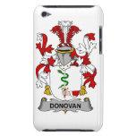 Escudo de la familia de Donovan Case-Mate iPod Touch Protectores