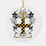 Escudo de la familia de Doorn Ornamento De Navidad