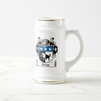 Escudo de la familia de Doran Jarra De Cerveza