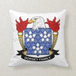 Escudo de la familia de Dorsey Almohada