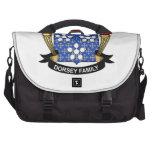 Escudo de la familia de Dorsey Bolsas Para Portátil