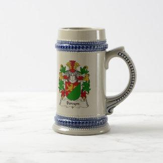 Escudo de la familia de Dorzym Jarra De Cerveza