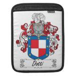 Escudo de la familia de Dotti Funda Para iPads