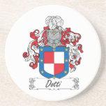 Escudo de la familia de Dotti Posavasos Manualidades