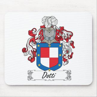 Escudo de la familia de Dotti Tapete De Raton