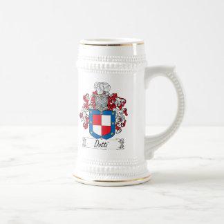 Escudo de la familia de Dotti Jarra De Cerveza