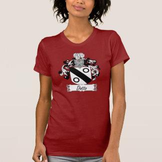Escudo de la familia de Dotto Camisetas