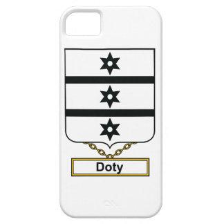 Escudo de la familia de Doty iPhone 5 Funda