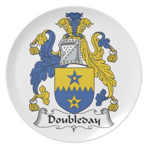 Escudo de la familia de Doubleday Platos