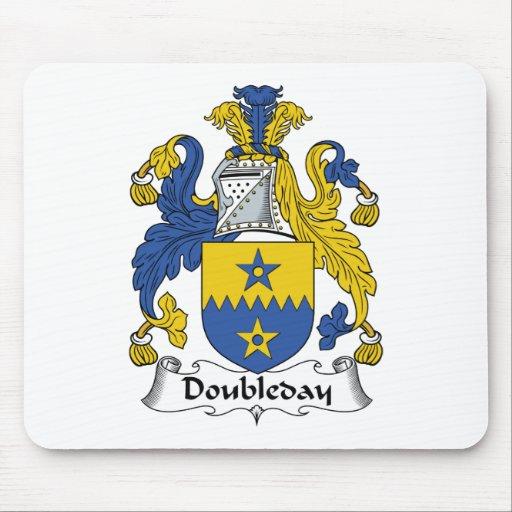 Escudo de la familia de Doubleday Alfombrilla De Ratón