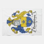 Escudo de la familia de Doubleday Toallas