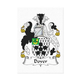 Escudo de la familia de Dover Impresiones En Lona