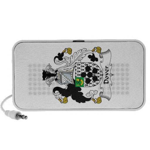 Escudo de la familia de Dover iPod Altavoz