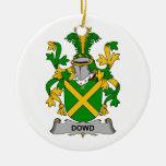 Escudo de la familia de Dowd Ornamentos De Reyes Magos