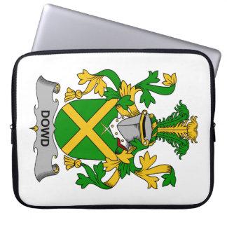 Escudo de la familia de Dowd Funda Computadora