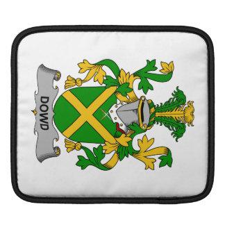 Escudo de la familia de Dowd Fundas Para iPads
