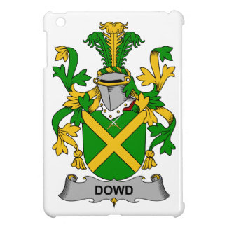 Escudo de la familia de Dowd iPad Mini Carcasas