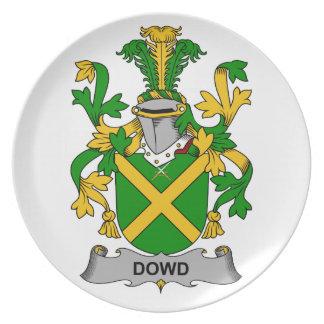 Escudo de la familia de Dowd Plato