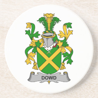 Escudo de la familia de Dowd Posavasos Para Bebidas