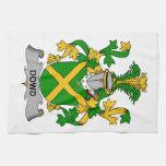 Escudo de la familia de Dowd Toalla