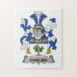 Escudo de la familia de Dowling Rompecabezas