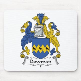 Escudo de la familia de Dowman Tapete De Ratones